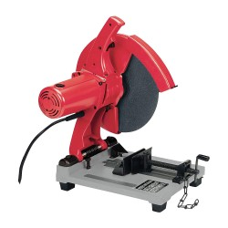 "Milwaukee Electric Tool - 6177-20 - 3.5 HP Chop Saw, 14"" Blade Dia., 1"" Arbor Size, Voltage: 120"