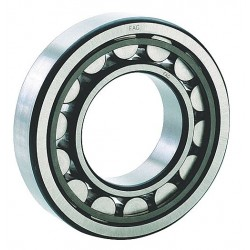 FAG / Schaeffler Technologies - NU208-E-TVP2 - Cylindrical Roller BRG, Bore 40 mm