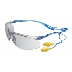 3M - 11797-00000-20 - Virtua Protective Eyewear with Corded Earplug Control System