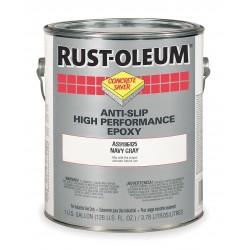 Rust-Oleum - AS9186425 - Matte Polyamine Converted Epoxy Anti-Slip Floor Coating, Navy Gray, 1 gal.