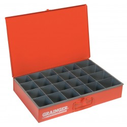 Durham - 102-17-S1158 - Compartment Box, 12 Drawer Depth, 18 Drawer Width, Compartments per Drawer 24