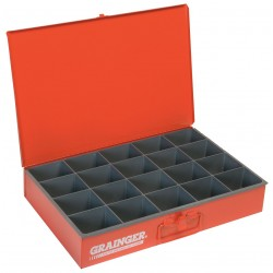 Durham - 111-17-S1158 - Compartment Box, 12 Drawer Depth, 18-1/8 Drawer Width, Compartments per Drawer 20