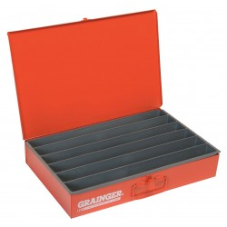 Durham - 125-17-S1158 - Compartment Box, 12 Drawer Depth, 18 Drawer Width, Compartments per Drawer 6