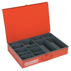 Durham - 119-17-S1158 - Compartment Box, 12 Drawer Depth, 18 Drawer Width, Compartments per Drawer 9