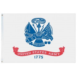 Annin - 439021 - US Army Armed Forces Flag, 4 ft.H x 6 ft.W, Indoor and Outdoor