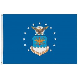 Annin - 439012 - US Air Force Armed Forces Flag, 4 ft.H x 6 ft.W, Indoor and Outdoor