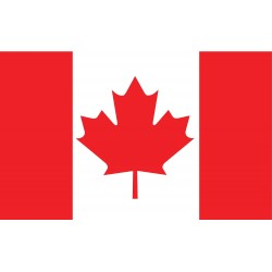 Annin - 191343 - Canada Country Flag, 5 ft.H x 8 ft.W, Indoor and Outdoor