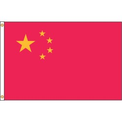 Annin - 191652 - China Country Flag, 3 ft.H x 5 ft.W, Indoor and Outdoor