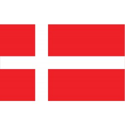Annin - 192191 - Denmark Country Flag, 4 ft.H x 6 ft.W, Indoor and Outdoor