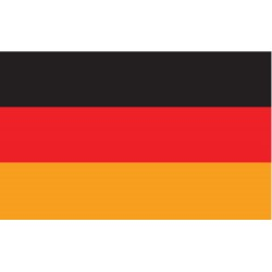 Annin - 192898 - Germany Country Flag, 3 ft.H x 5 ft.W, Indoor and Outdoor