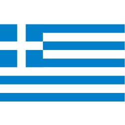 Annin - 193125 - Greece Country Flag, 3 ft.H x 5 ft.W, Indoor and Outdoor