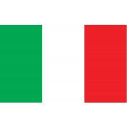 Annin - 193997 - Italy Country Flag, 3 ft.H x 5 ft.W, Indoor and Outdoor