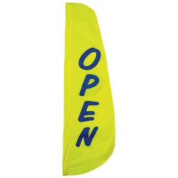 Annin - 918 - Open Feather Flag 2x8ft, Ea