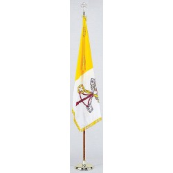 Annin - 101800 - Religious Flag Set, 4 ft. Height, 6 ft. Width, Includes Base and 8 ft. Pole
