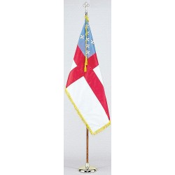 Annin - 102100 - Religious Flag Set, 4 ft. Height, 6 ft. Width, Includes Base and 8 ft. Pole