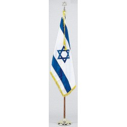 Annin - 102500 - Religious Flag Set, 4 ft. Height, 6 ft. Width, Includes Base and 8 ft. Pole