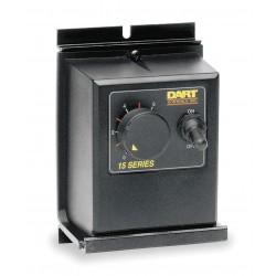 Dart Controls - 15DVE - DC Speed Control, NEMA 4/12, 100/200VDC Shunt Wound Volts, 0 to 90/180VDC Voltage Output, 3 Max. Amps