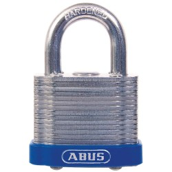 ABUS - 41/40 KD - Different-Keyed Padlock, Open Shackle Type, 3/4 Shackle Height, Silver