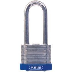 ABUS - 41HB/40 KD - Different-Keyed Padlock, Open Shackle Type, 2 Shackle Height, Silver