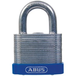 ABUS - 41/50 KD - Different-Keyed Padlock, Open Shackle Type, 1 Shackle Height, Silver