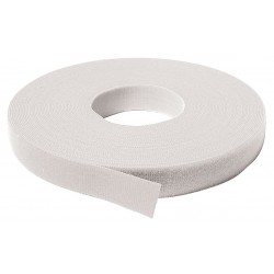 Velcro Industries - 189811 - Hook-and-Loop-Type Back-to-Back Strap with No Adhesive, White, 3/4 x 75 ft., 1EA
