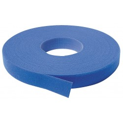 Velcro Industries - 176062 - Hook-and-Loop-Type Back-to-Back Strap with No Adhesive, Blue, 3/4 x 75 ft., 1EA