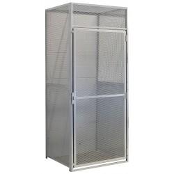 Hallowell - BSL484890-R-1S-PL - Starter Bulk Storage Locker, 1 Tier, Metal