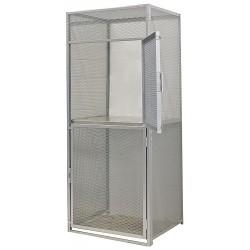 Hallowell - BSL364890-R-2S-PL - Starter Bulk Storage Locker, 2 Tier, Metal