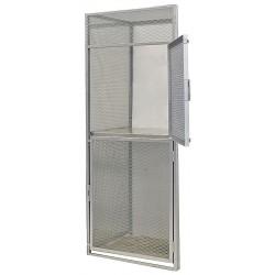 Hallowell - BSL364890-R-2A-PL - Add-On Bulk Storage Locker, 2 Tier, Metal