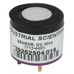 Industrial Scientific - 17134461 - Industrial Scientific Replacement Portable Oxygen Sensor For Use With Ventis MX4 Multi-Gas Monitors, ( Each )