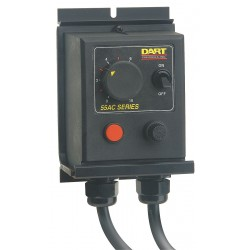Dart Controls - 55AC15E - 55AC15E - Dart Controls Enclosed variable AC voltage supply 0-120VAC full wave 15 amps max