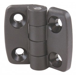 80/20 - 12108 - Butt Hinge, Black Plastic Finish, 1-57/64 x 1-5/32