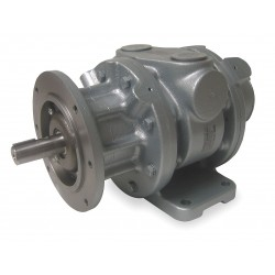 Gast - 16AM-FRV-252 - 9 C Face Mounted Air Motor with 7/8 Shaft Dia. and 1-1/4 NPT Port Size