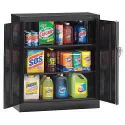 Tennsco - 1842BK - Storage Cabinet, Black, 42 Overall Height, Unassembled