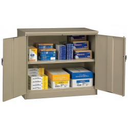 Tennsco - 2442SU-SD - Storage Cabinet, Sand, 42 Overall Height, Assembled