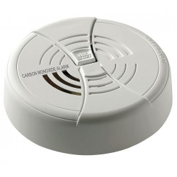 BRK Electronics - CO250B - 4-1/4 Carbon Monoxide Alarm with 85dB @ 10 ft., Horn Audible Alert; 9V