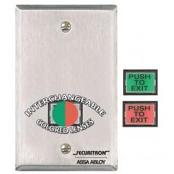 Securitron / Assa Abloy - PB-3-E - Securitron PB3E Push Button