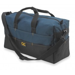 CLC (Custom Leather Craft) - 1113 - CLC Carrying Case (Tote) for Tools - Handle, Shoulder Strap - 9 Height x 18 Width x 7 Depth