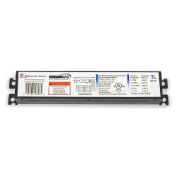GE (General Electric) - GE332-MV-PS-XL - Electronic Ballast, 32 Max. Lamp Watts, 120/277 V, Programmed