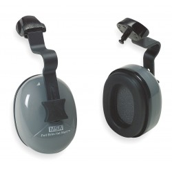 MSA - 10034487 - Gray/Green Ear Muff, Noise Reduction Rating NRR: 25dB, Dielectric: Yes