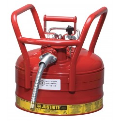 Justrite - 7325120 - Type II DOT Safety Can, Red, 16-1/2 In. H