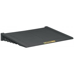 Justrite - 28687 - Accumulation Center Ramp, Black
