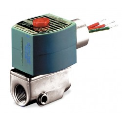 Red Hat - 8040H006 - 1/8 Aluminum Fuel Gas Solenoid Valve with Test Port, Normally Closed