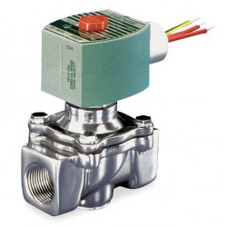 Red Hat - 8040G022 - 1/2 Aluminum Fuel Gas Solenoid Valve with Test Port, Normally Closed