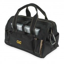 CLC (Custom Leather Craft) - 1533 - CLC Carrying Case (Tote) for Tools - Abrasion Resistant Base - Handle - 9 Height x 12 Width x 8 Depth