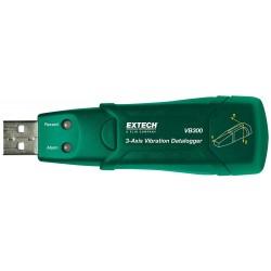 Extech Instruments - VB300 - Extech VB300 3-Axis G-force Datalogger 3-3/4