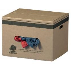 Buffalo Industries - 10085 - Assorted Cotton/Polyester Cloth Rag, 50 lb. Box, 1EA