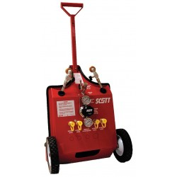 Scott / Tyco - 805826-01 - Air Cylinder Cart, 2 Cylinders, 4500 psi
