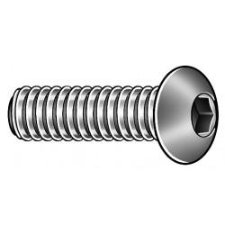 Kerr Lakeside - 10C62KBC - #10-24 x 5/8, Button, Socket Head Cap Screw, Alloy Steel, Steel, Black Oxide Finish, 100PK