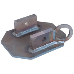 DBI / Sala - 8517412 - Bare Steel Unianchor With Tie Off Anchor